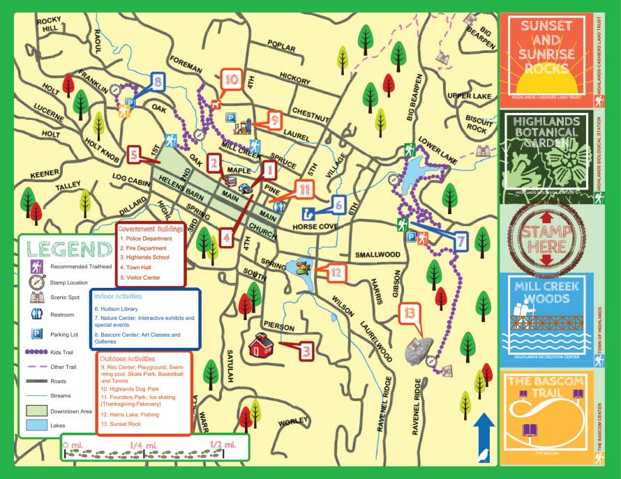 TBS KidsPassport HighlandsPlateauGreenwayMap 2020 Page 1